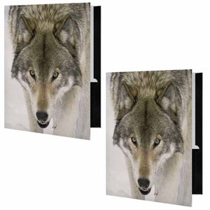 Wolf Face Folder - Set of 2
