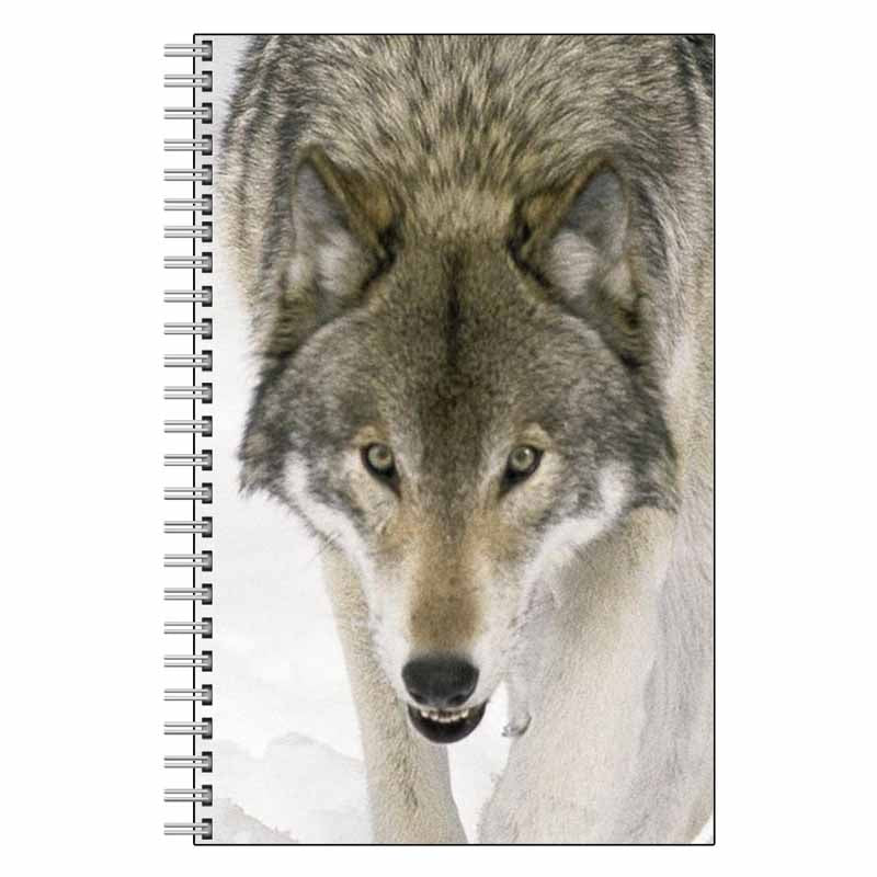 Wolf Face Journal Notebook