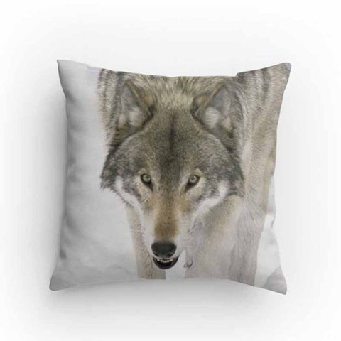 Wolf Face Pillow