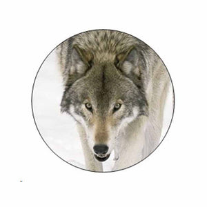 Wolf Animal Face Stickers