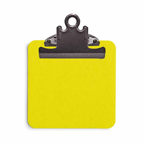 Sticky Note Clipboard - Yellow