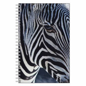 Zebra Face Journal Notebook
