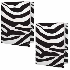 Zebra Print Folder - Set of 2
