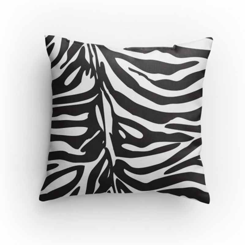 Zebra Print Pillow