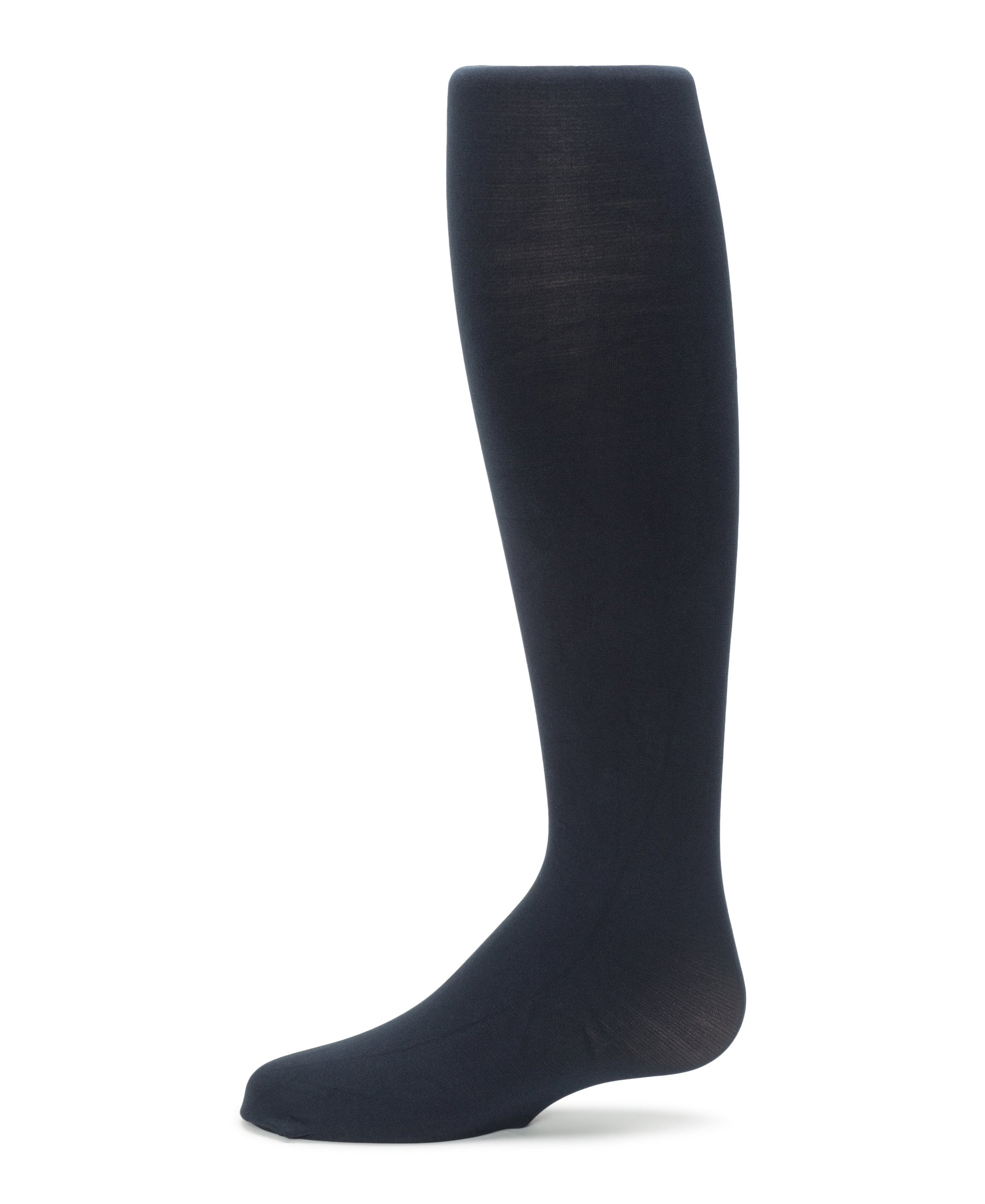 Flat Knit (Comfortoe) Tights, Navy