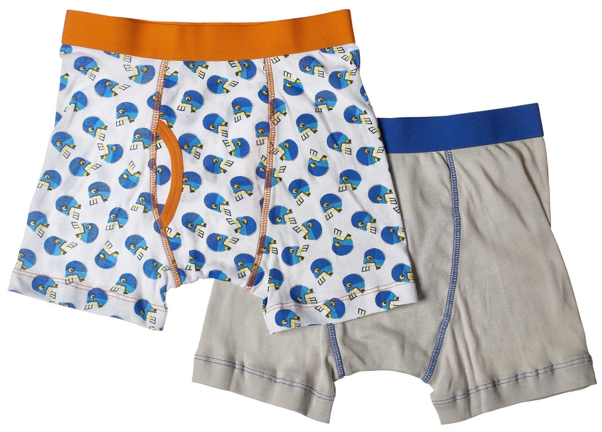 2-Pack Football Stars 100% Cotton Fashion Printed Boxer Briefs