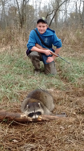 Nice Raccoon caught by Dakota from Michigan 2017 Trapped Lenon's
