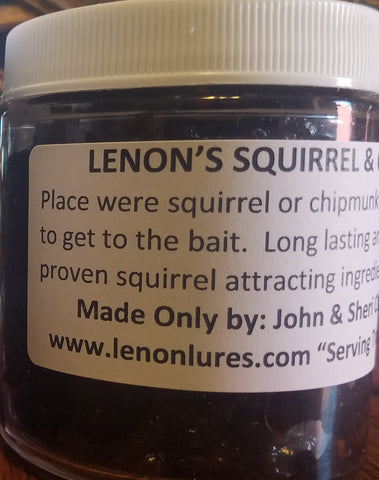 Lenon's Squirrel & Chipmunk Past Bait