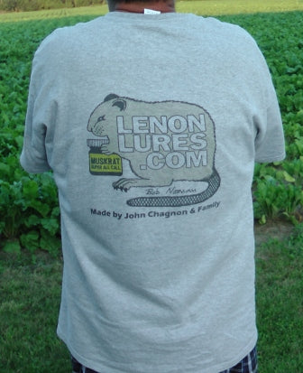 Lenon's Lure Short Sleeve T Shirts Available Men's Size Medium to 5 X