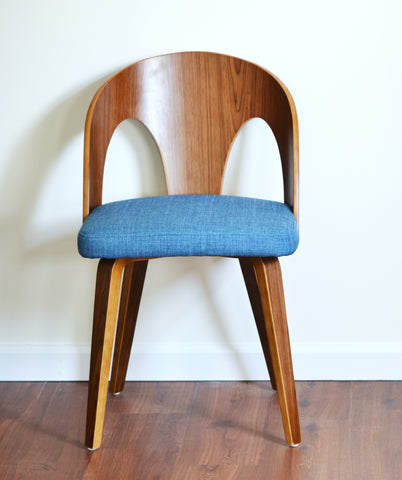 Vintage Modern Wood Dining Chair - $25 for Holding Option