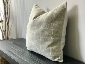 Patterned Textured Throw Pillow