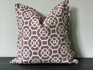Patterned Textured Throw Pillow Cover