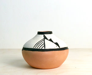 Small Clay Pottery Vase