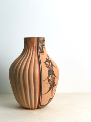 Jemez Pottery Jar by Bertha Gachupin