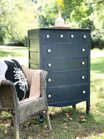 Midnight Blue Dresser