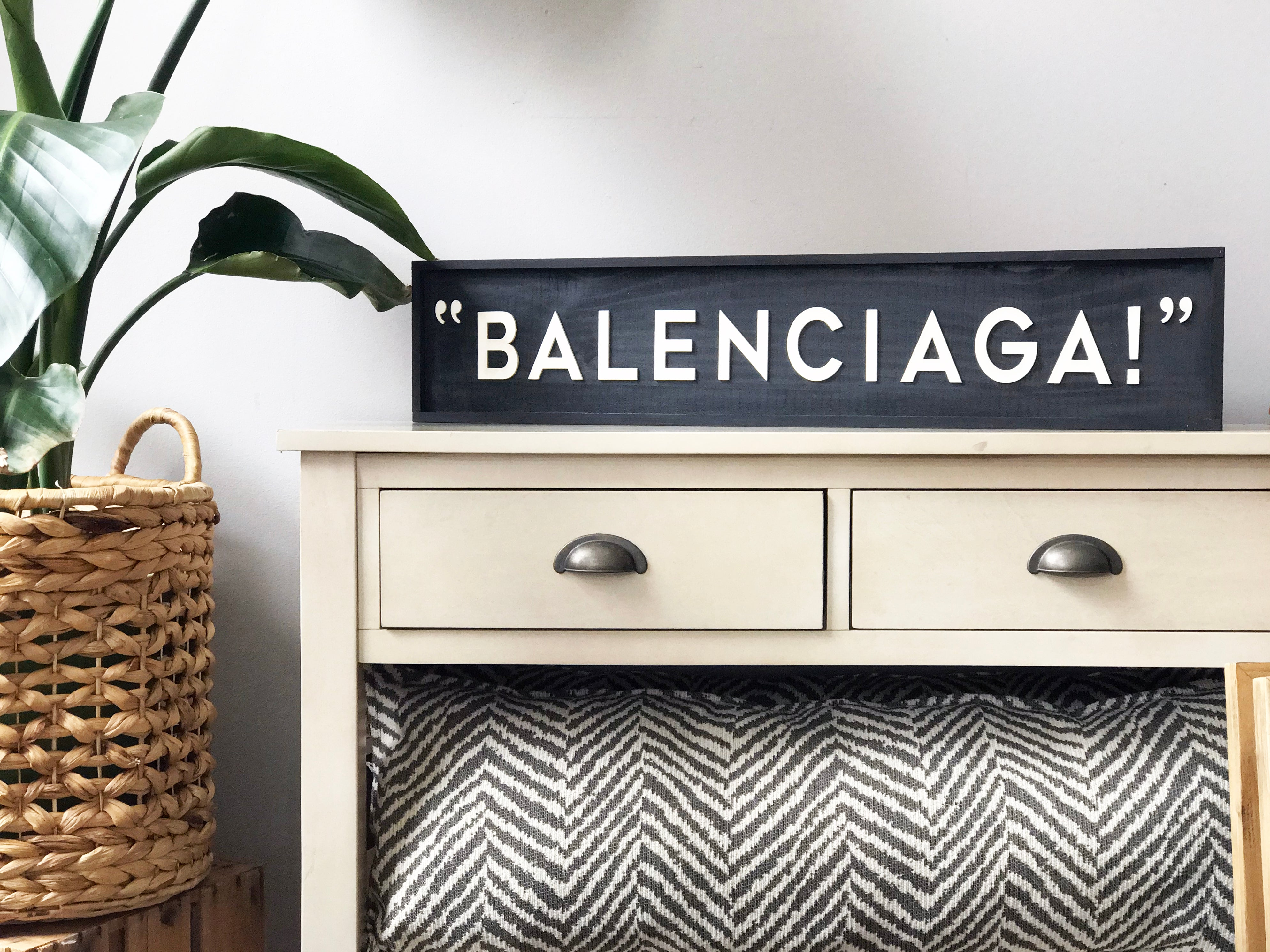 Balenciaga! -  Wall Art