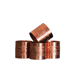 Coppercraft Guild Napkin Rings