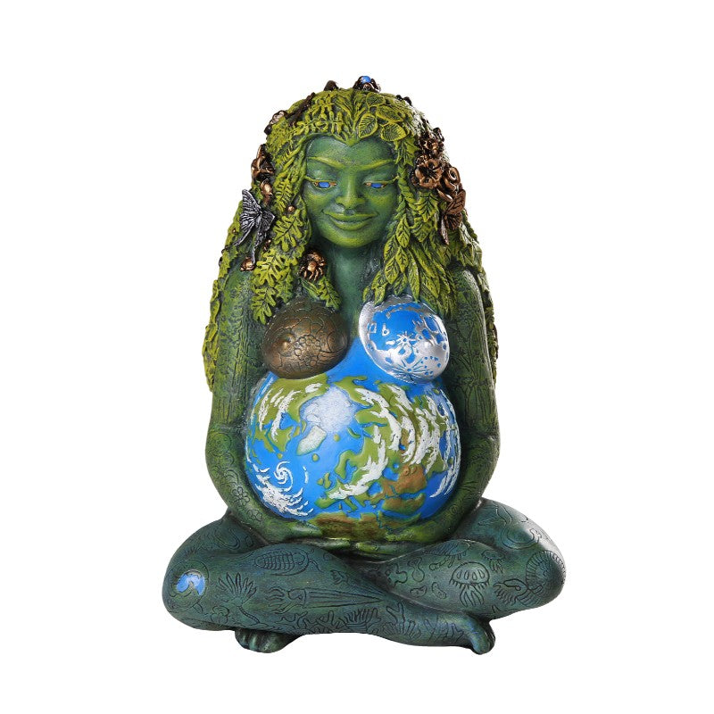 Mother Earth Millenial Gaia Statue