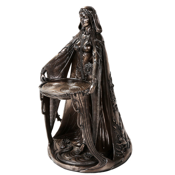 Bronze Finish Danu Statue (Large)