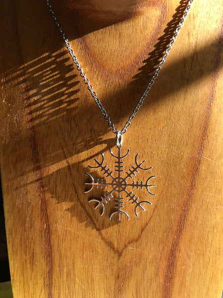 Helm of Awe Necklace - Lasercut