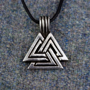 Valknut Necklace