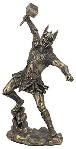 Bronze Finish Thor Statue