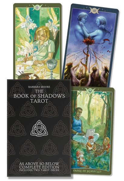 The Book of Shadows Tarot Complete Kit