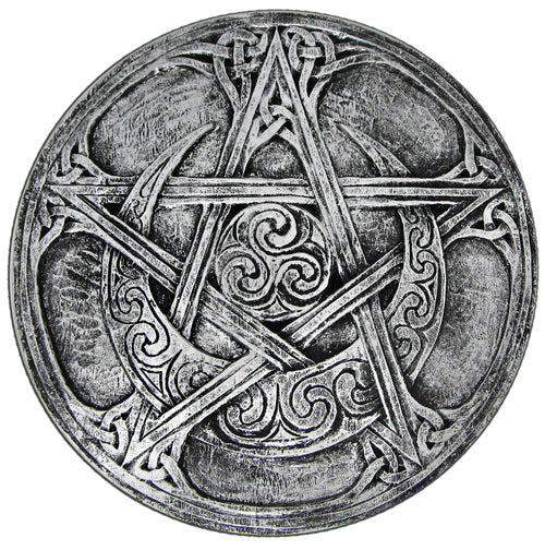 Moon Pentacle Plaque (Small)