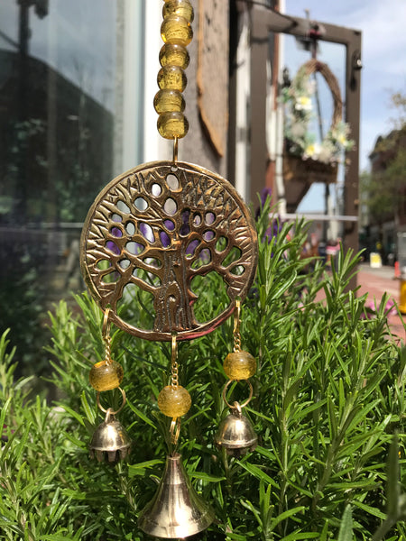 3 Part Yggdrasil Wind Chime