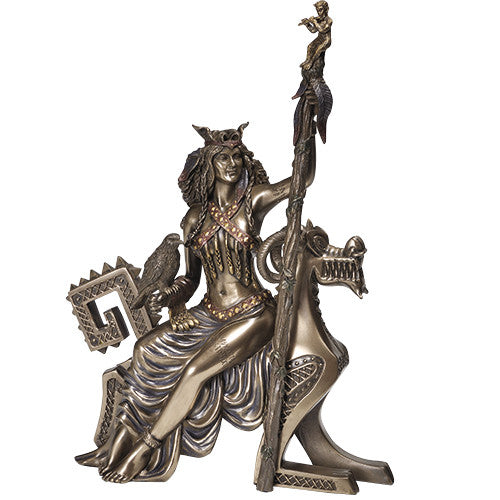 Frigga on Dragon Throne Statue