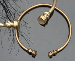 Brass Celtic Torc