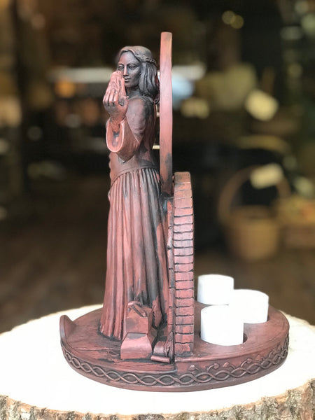 Brigid Candle Statue (Large)