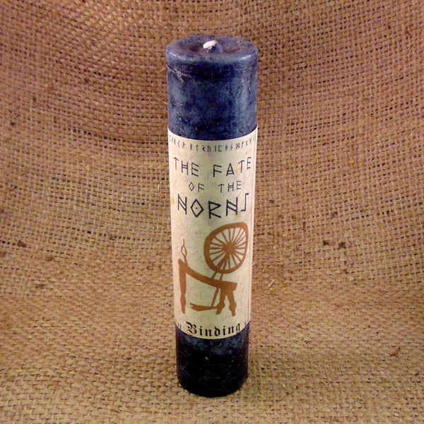 Fate of the Norns Pillar Candle