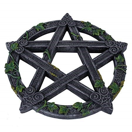 Pentacle Ivy Wall Plaque