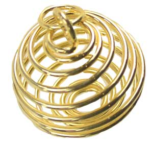 "1"" Gold Plated Coil/Cage"