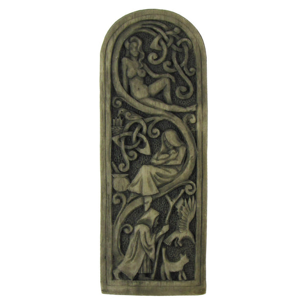 Maiden, Mother, Crone Plaque (Stone Finish)