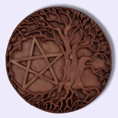 Pentacle Tree Plaque
