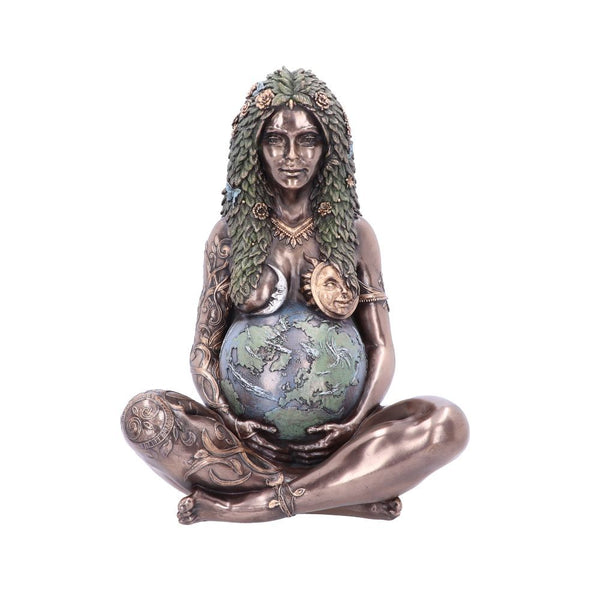 Bronze Ethereal Mother Earth Statue