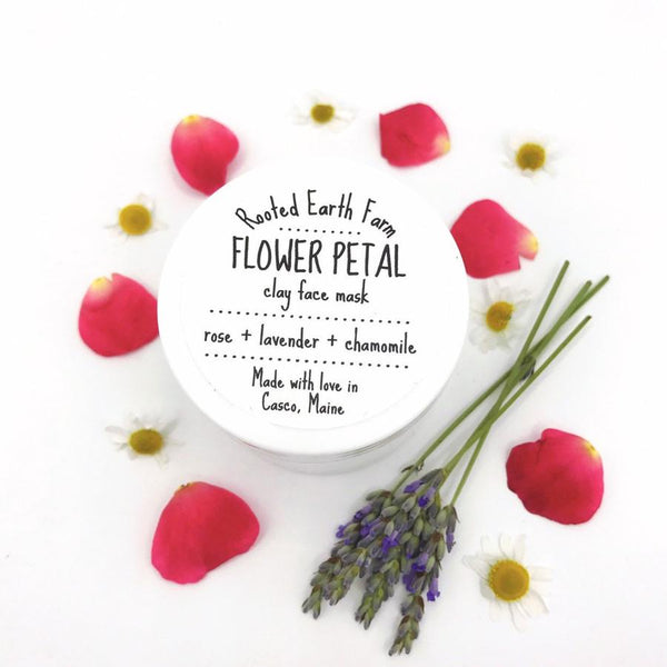 Flower Petal Clay Mask