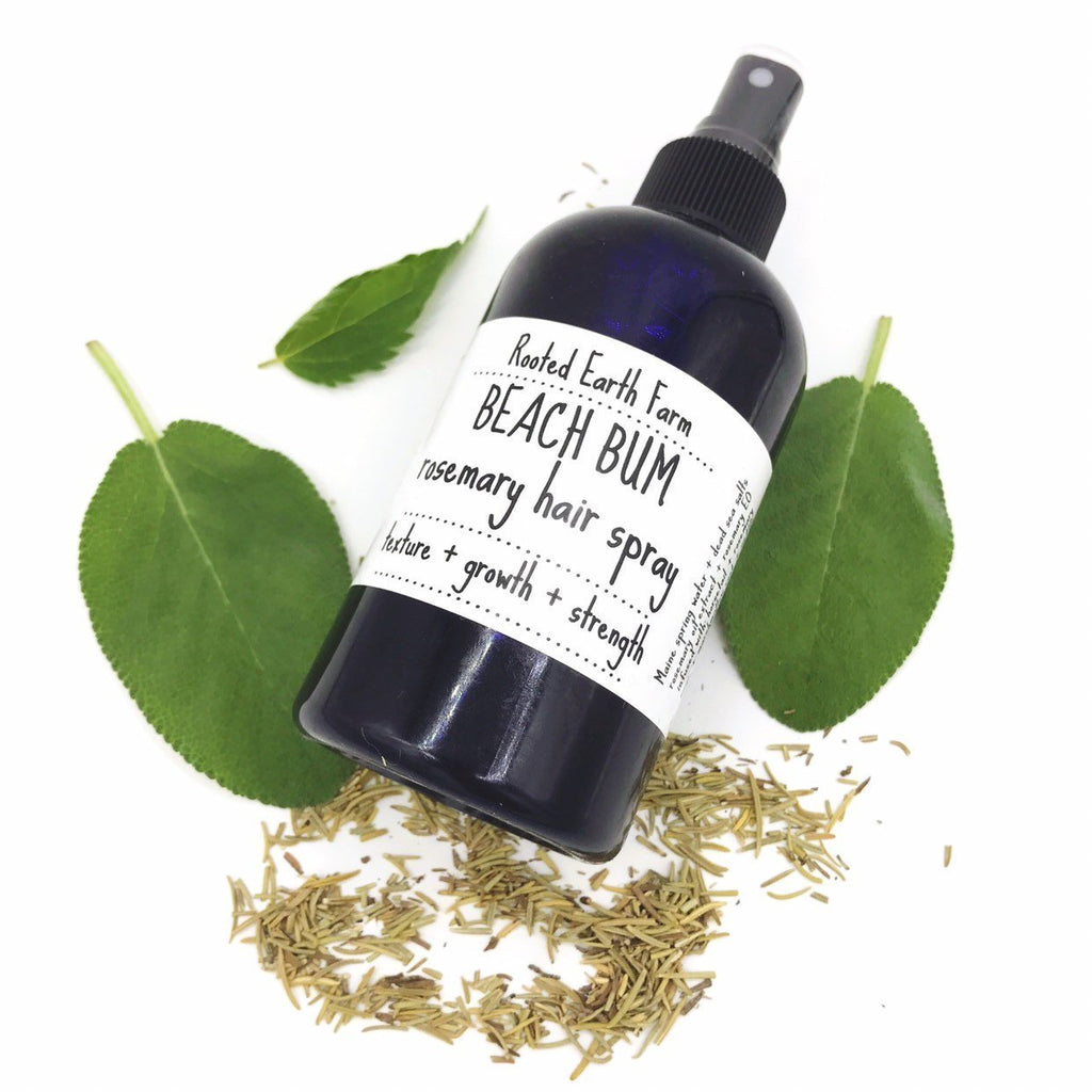 Beach Bum Herbal Hair Spray - Rosemary