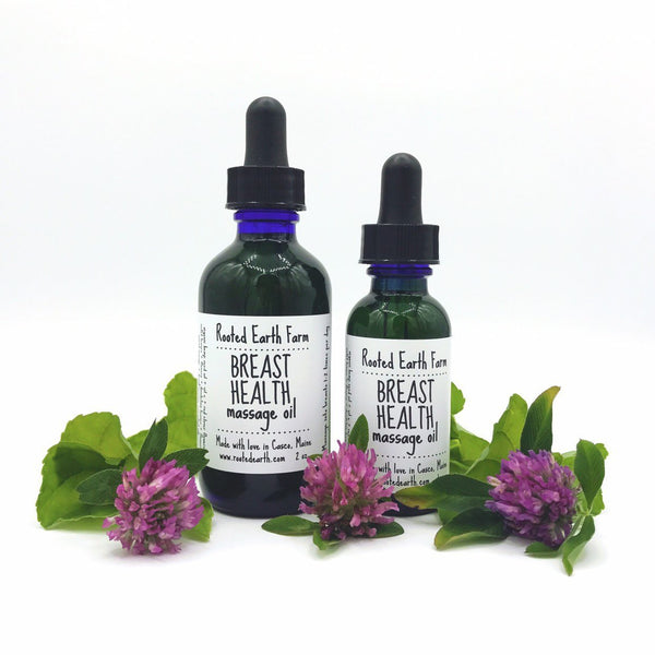 BREAST HEALTH MASSAGE OIL