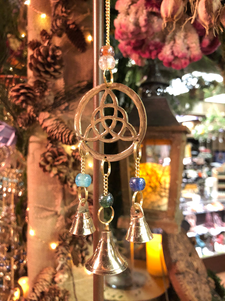 Three Bell Triquetra Wind Chime (Small)
