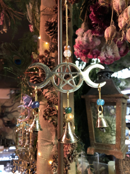 Triple Moon Wind Chime (Small)