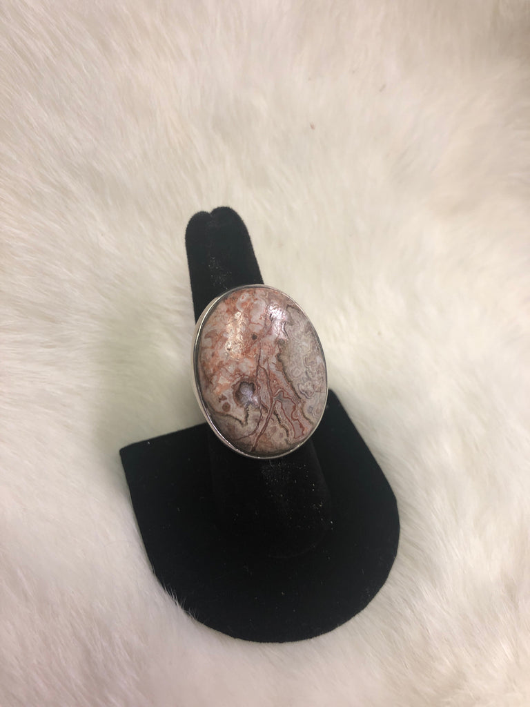 Sterling Silver Picture Jasper Ring