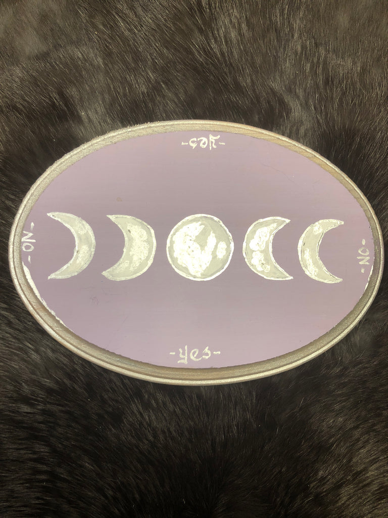 Moon Phase Pendulum Board - Oval