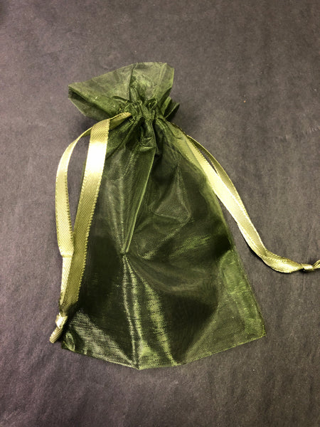 Organza Bag - Green