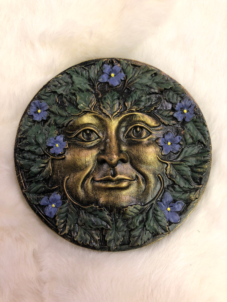 Beltane Greenman Plaque