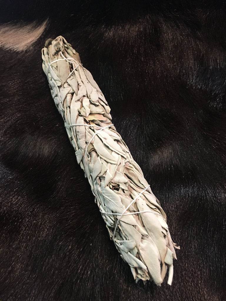 Large White Sage Smudge Stick (1 Bundle)