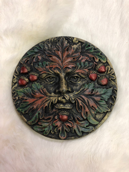 Autumn Equinox Greenman Plaque