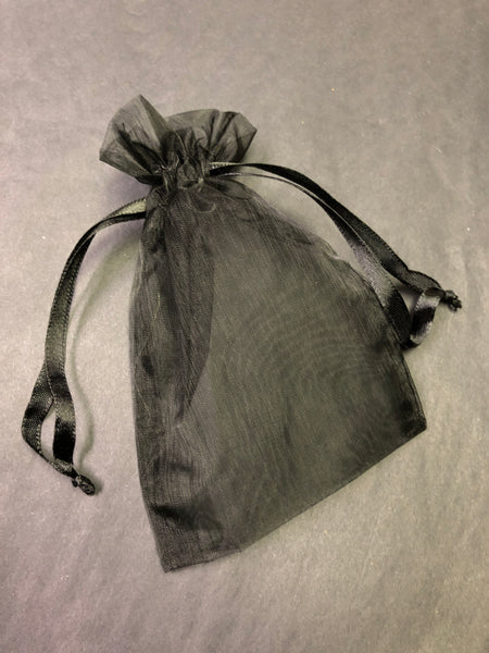Organza Bag - Black
